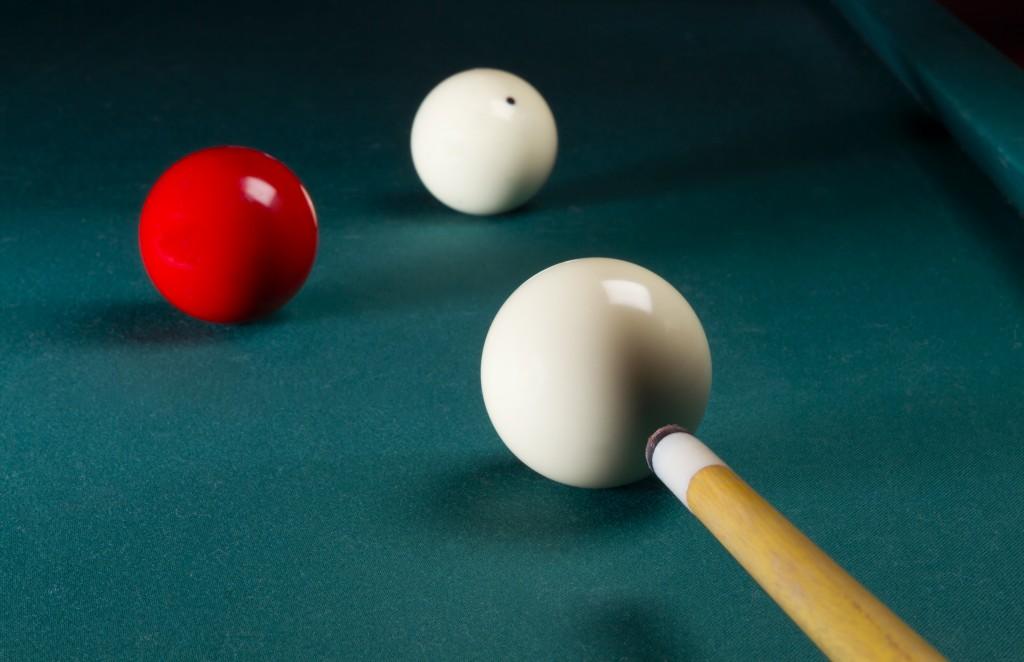 Carambole billiard